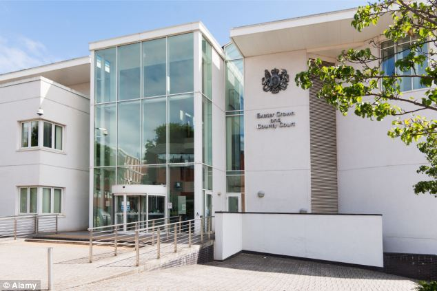 Hearing: Loder admitted perverting the course of justice and was jailed for six months at Exeter Crown Court