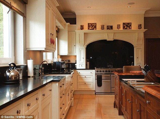 The home of the tycoon is expected to go on sale for £1.5million