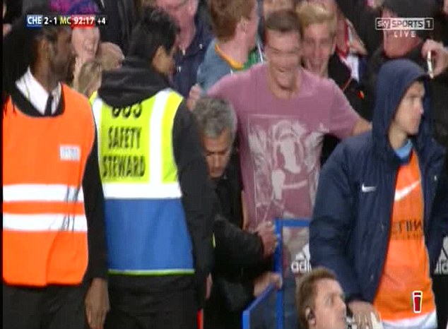 Enough is enough: Mourinho decides to head back to his dugout