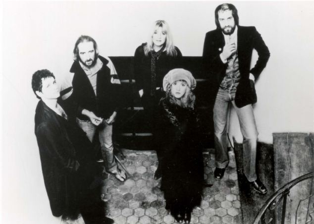 Way back when: Fleetwood pictured in 1982, left to right  Lindsay Buckingham, Christine McVie, Mick Fleetwood, Steve Nicks and John McVie
