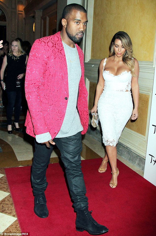 Engaged: Kanye West recently popped the question to Kim Kardashian, the mother of his baby daughter North