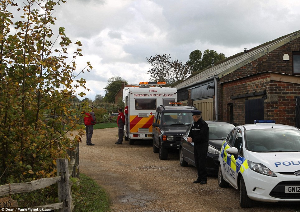 Emergency services were called to Hever in Edenbridge at 7.18am following reports that the 17-year-old girl was seriously injured. But teams were unable to save her