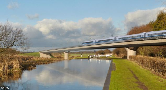 The Transport Secretary will criticise Labour for failing its own politicians in the North and Midlands by refusing to fully back the £50bn project claiming it would bring the areas economic benefits
