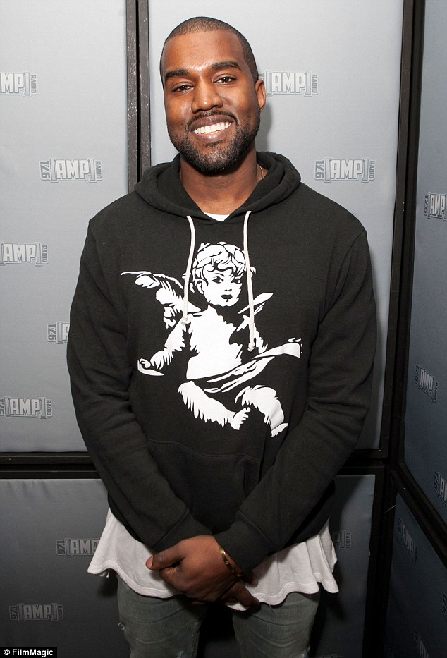 Wants it all: Kanye said he hoped to one day balance his work with being daughter North's 'soccer coach'
