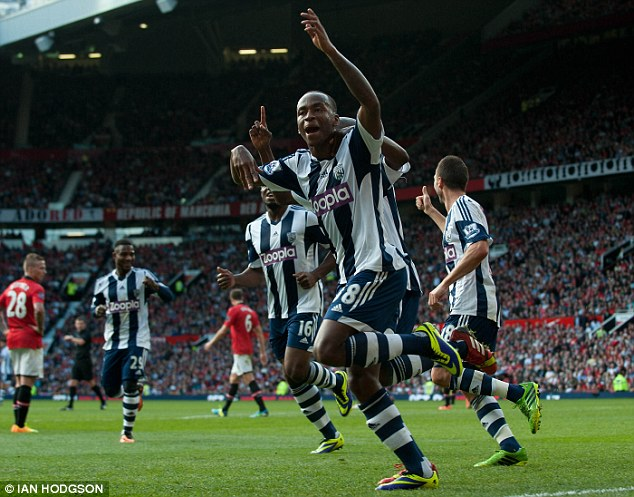 Big future: Berahino is an outside bet to make the England first team World Cup squad