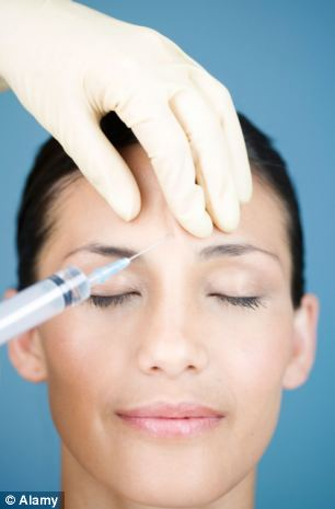 A new drug created from Botox by a Sheffield University researcher could provide months of pain relief (file photo)