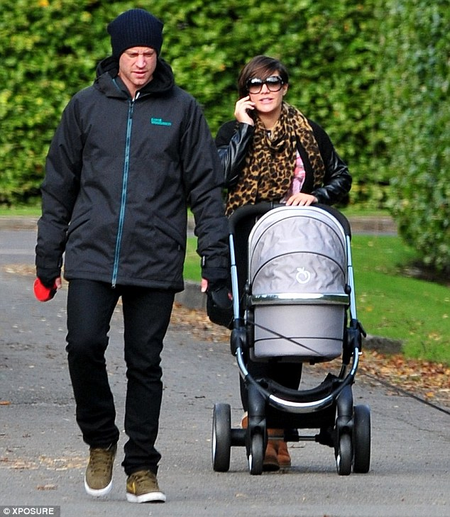 Loving couple: Frankie and Wayne started dating in 2010, shortly after Frankie's relationship with McFly bassist Dougie Poynter came to an end