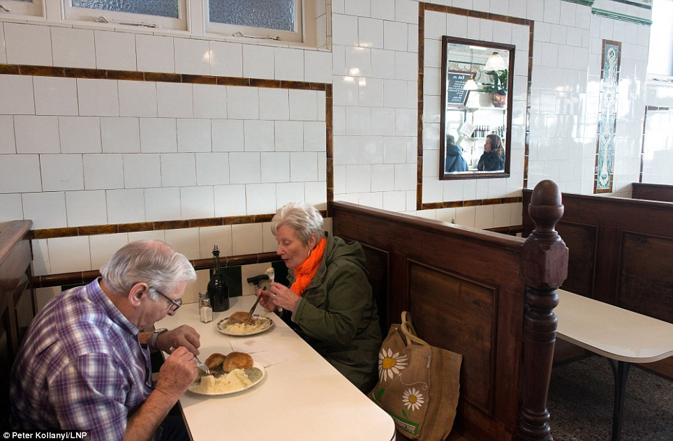 Original recipe: Although pie and Mash shops have modernised, early incarnations of the meal were served with eel pies, potato and parsley liquor