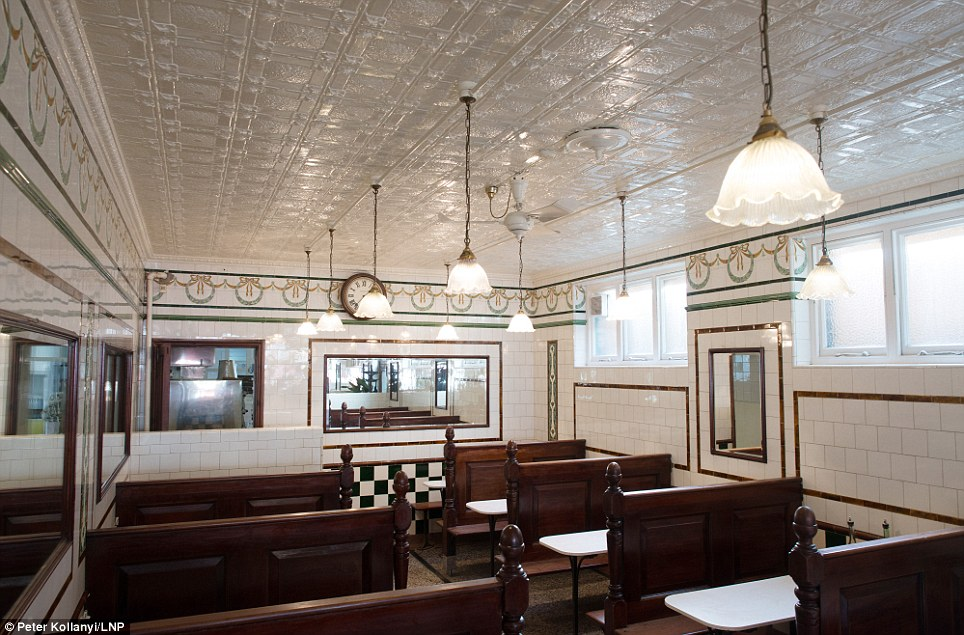 Tradition: Pie and mash shops became a hit in Victorian times thanks to the simplicity of the dish, which meant it could be produced cheaply on site and served that day