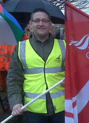Mr Deans resigned from his role as Unite boss at the Grangemouth refinery on Monday