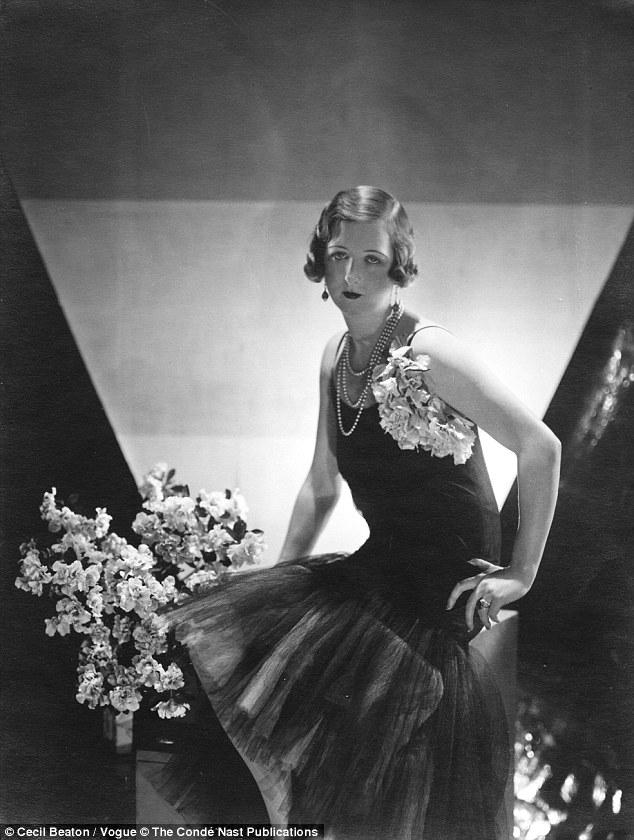 Vogue vixen: Cecil Beaton's portrait of Lady Idina for the magazine