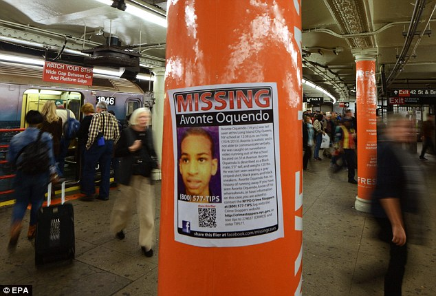 Hope: The possible sighting has been welcomed by the autistic teenager's family, who have been searching for him since October 4