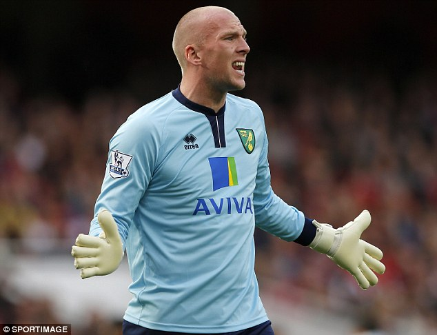 New deal: John Ruddy is delighted to have committed his long-term future to the Premier League side