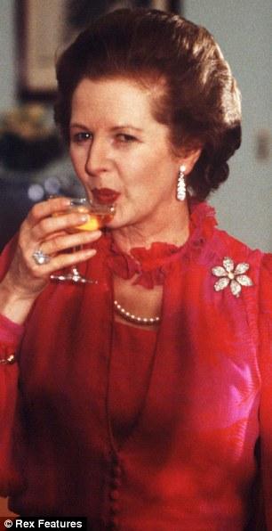 Husky tones: Lady Margaret Thatcher
