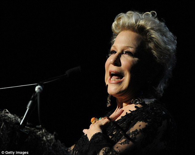 Wowing the crowd: The 67-year-old singer and actress took to the stage at the Waldorf Astoria