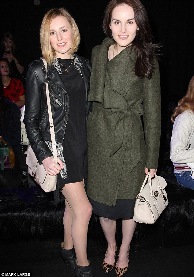 While she may be best friends with her screen sister Michelle Dockery in real life, even the death of Matthew fails to unite Edith and Mary