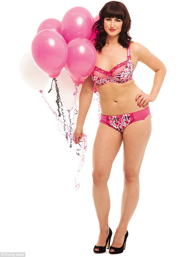 Alice's friends entered her into Curvy Kate's annual lingerie competition, she was surprised to be shortlisted