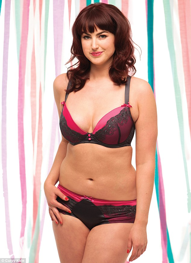Now the Curvy Kate ambassador has a 30FF bust and poses nude for Cosmopolitan