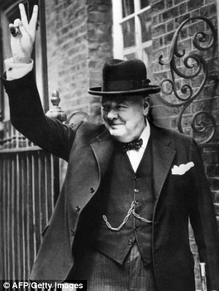 Winston Churchill, pictured, famously Churchill remarked, 'Everyone but a bloody fool would know' that American and Britain's would attack Sicily, hence the need for a plan