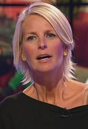 Ulrika Jonsson at Big Brother 10 TV Programme, Britain - 21 Aug 2009