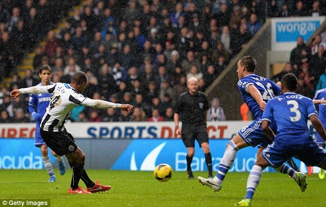 Making sure: Loic Remy scored a late second as Chelsea went in search of an equaliser