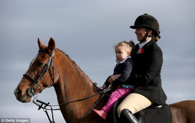 Riders young and old turned out for the first event in the Duke of Beaufort Hunt's calendar