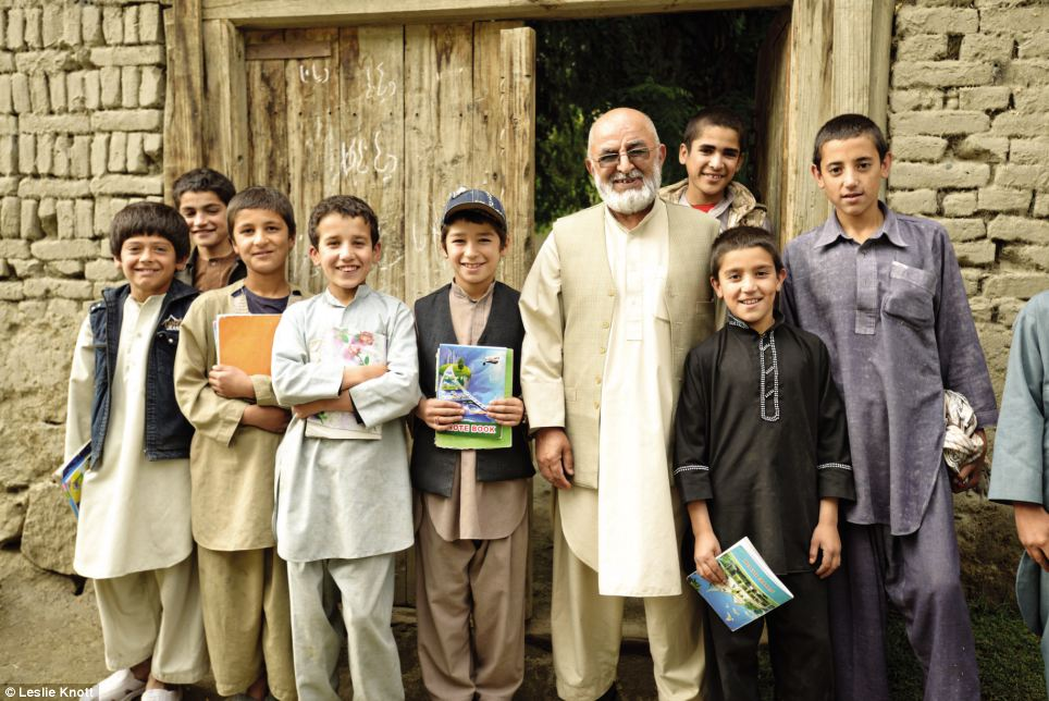 Ustad Gulam Saki and the Village School