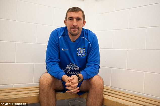 True blue: Alan Stubbs is working at Everton as U21 manager