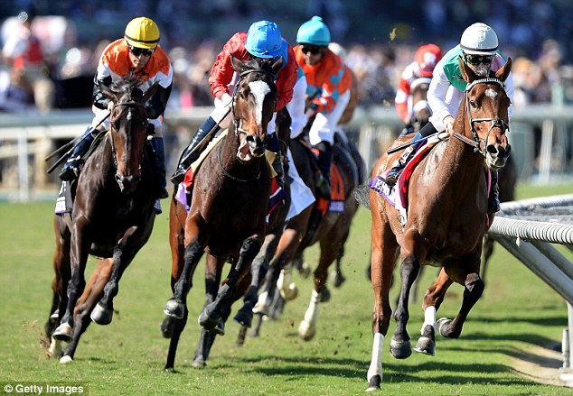 Making her move: Dank struck on the turn and was never headed as she became Britain's latest winner