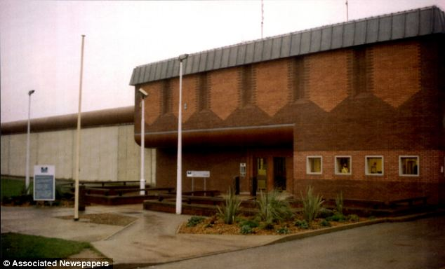 Locked up: Nilsen is denied access to the internet at Full Sutton maximum security prison near York