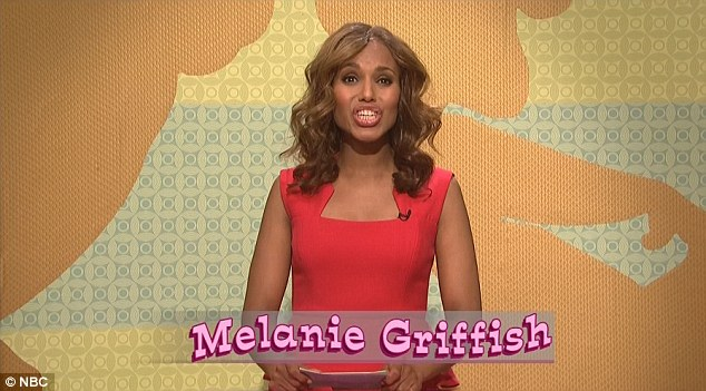 The emcee: The Scandal actress as the host of a cartoon trivia show