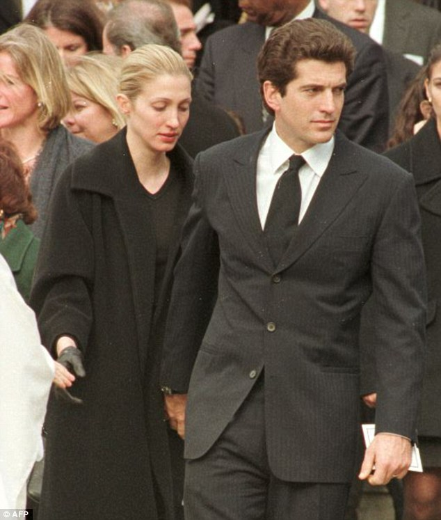 JFK Jr. and wife  Carolyn were compared to President Kennedy and First Lady Jackie Kennedy because of their seemingly fairy tale romance