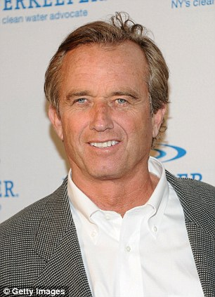 The revelations come from the diary of Robert F. Kennedy Jr.