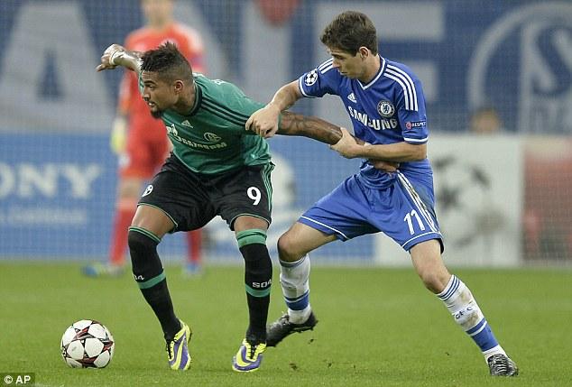Chelsea face Schalke at Stamford Bridge this week