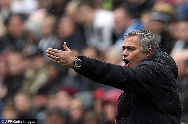 Inquest: Jose Mourinho was furious with the 11 players he selected for the defeat against Newcastle