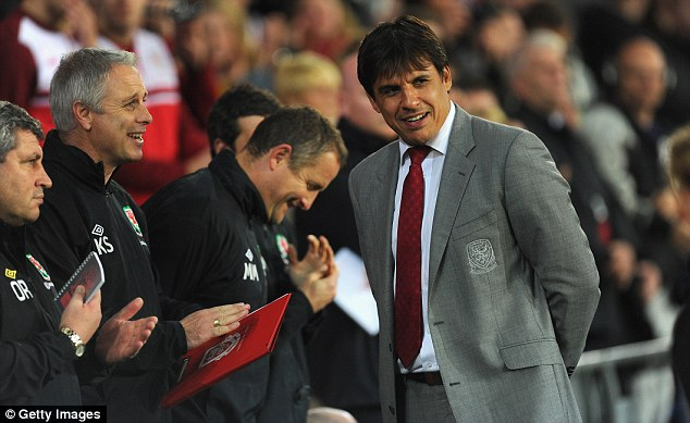 Uncertainty: Chris Coleman was favourite to replace Ian Holloway as Crystal Palace manager