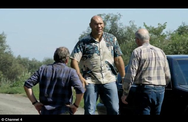 X-files: Nikolai Valuev's hunt for the real sasquatch was revealed in Channel 4's Bigfoot Files