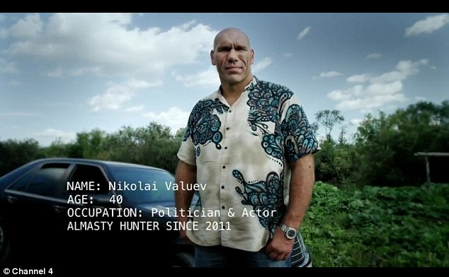 Just big: Valuev, 40, has become a successful actor and politician in Russia post boxing
