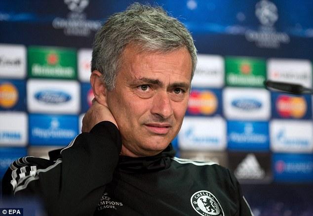 Feeling the strain? Mourinho has revealed he struggles to eat or sleep after a match