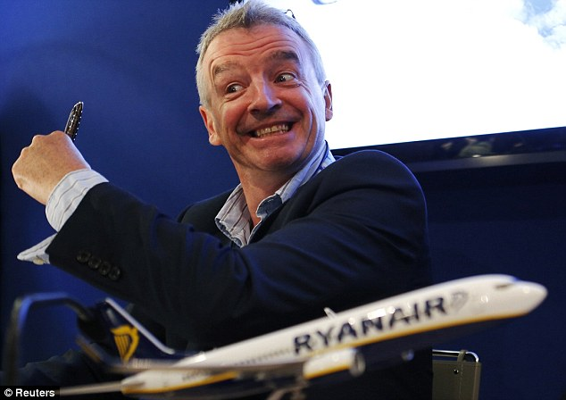 Finances: Ryanair, run by Michael O'Leary, today issued a second profit warning in as many months after forecasting they would be hammered by downward pressure on fares