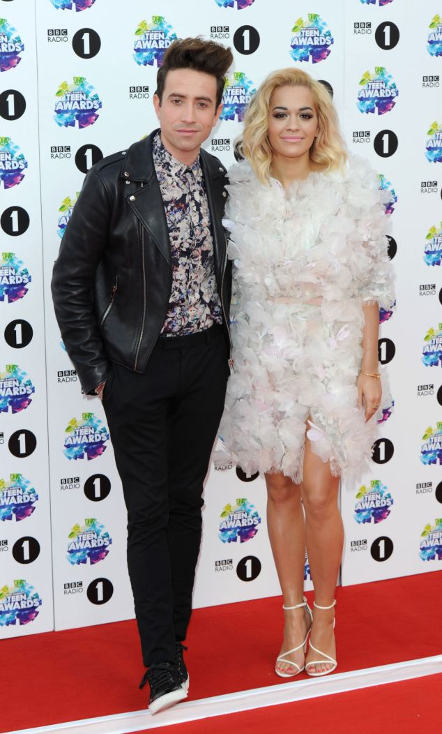The next Richard and Judy: Nick and Rita co-hosted the BBC Radio 1 Teen Awards on Sunday and this time they both dressed up for the event