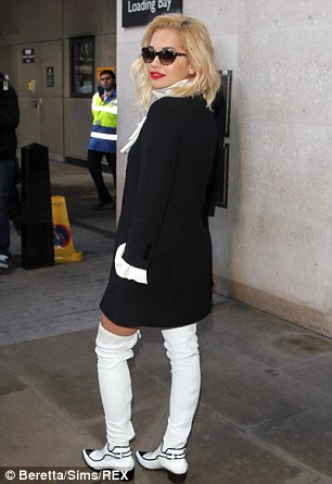 She's got the Power: Rita is likely to ruffle a few feathers with this controversial style choice though