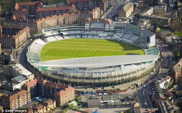 Extensive: The Duchy of Cornwall comprises more than 50,000 acres of land, including The Oval cricket ground in London, above