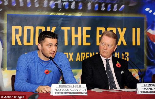 Return: Cleverly makes his cruiserweight debut against Australian Daniel Amman  on November 30
