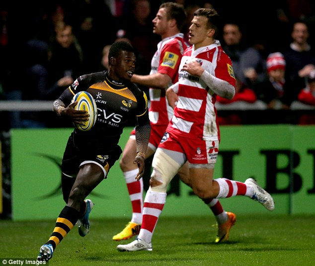 Recognition: Wade's form for Wasps hasn't gone unnoticed by the England coaches