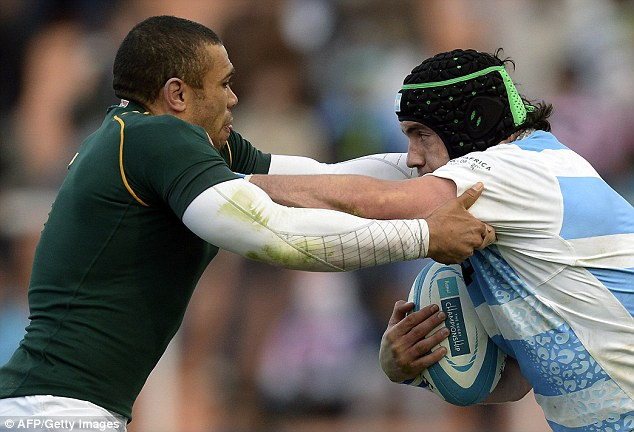 Plan: Ayerza says the Pumas will use the scrum as a weapon to hurt England