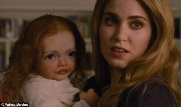 'One of the most grotesque things ever!' The robot baby 'Chuckesmee' ditched from Breaking Dawn 2 is finally revealed