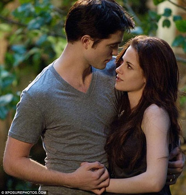 Vampire blood: Renessmee is the product of vampire Edward Cullen and his once human wife Bella and develops at a quicker rate than human babies