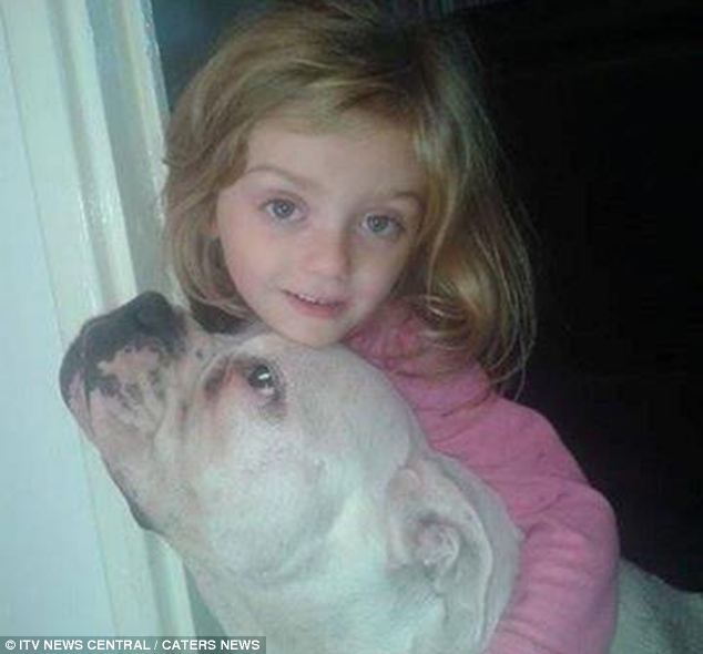 My pet: Lexi with the dog that would kill her weeks later in an unprovoked attack