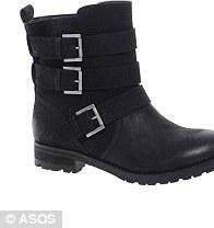 ASTERIX Boots, £55, ASOS